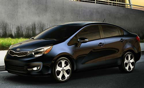 Kia Rio for rent in Lebanon