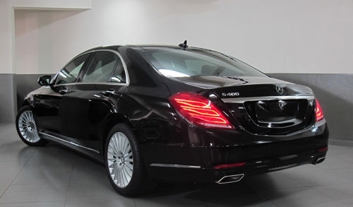Luxury Mercedes s 400 for rent in Lebanon