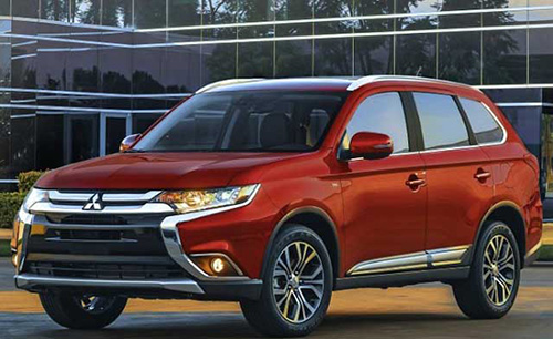 Mitsubishi Outlander for rent in Lebanon by race rent a car